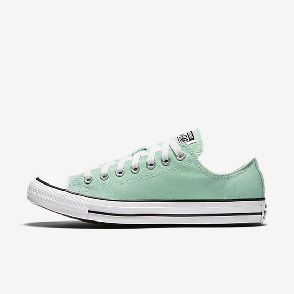 14a448e753f924 Converse Shoes - Converse 10 Mint Chuck Taylor Dainty Ox Low Tops
